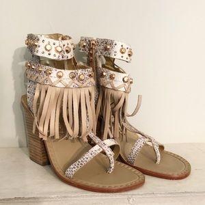 Ivy Kirzhner Hildagard Fringe City Sandal